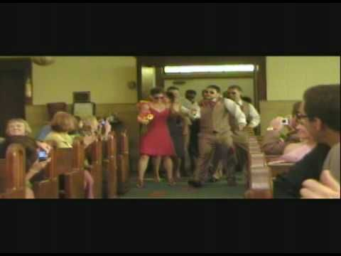 Great entrance to the church on their wedding day. More funny videos at http://www.facebook.com/funnyweddingvideos