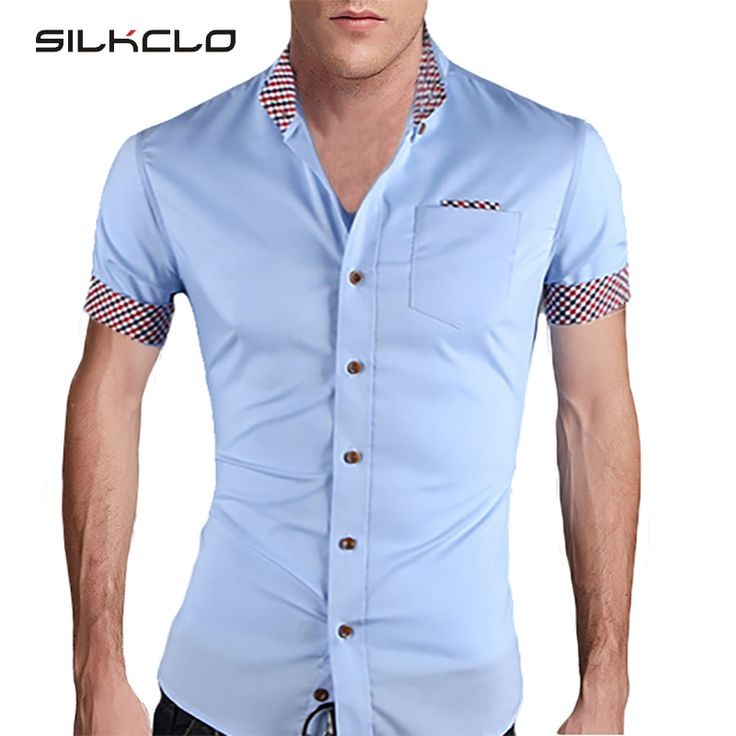 Cheap 2015 Estilo de Moda de Verano Para Hombre Camisa de Tela Escocesa Del Collar Camisas de Marca de Alta Calidad de Manga Corta Para Los Hombres de Algodón Solid Camisa Sociales, Compro Calidad Camisas casuales directamente de los surtidores de China: New 2016 Summer Mens Slim fit T shirt With a Hood Short Sleeve  T-shirt For Men Hip Hop Swag Tshirts Camisetas Masculina