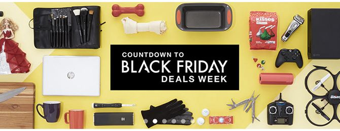 Amazon's Black Friday Deals–Just Released!