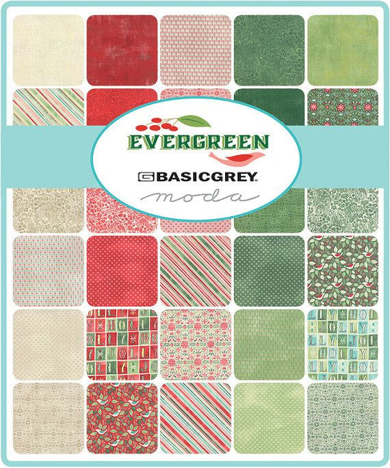 Evergreen Fat Eighth Bundle by Basic Grey,  CentralFabrications