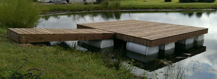 $40.00 Floating Dock Completed! | Questions & Observations | Pond Boss Forum