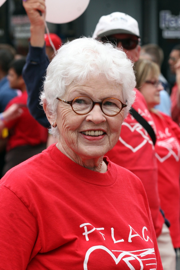 PFLAG mom Betty DeGeneres - we love you, for speaking up and out on behalf of all parents of LGBT people! We <3 you, Betty!