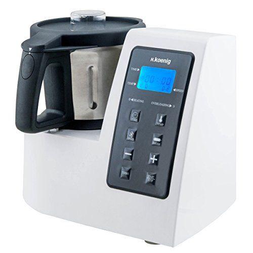 H.Koenig HKM1028 Robot Culinaire Chauffant Multi Fonctions - 1300W: Cet article H.Koenig HKM1028 Robot Culinaire Chauffant Multi Fonctions…
