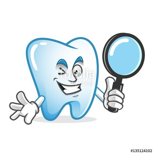 "Download the royalty-free vector ""Search tooth mascot holding magnifying glass, tooth character, tooth cartoon vector "" designed by IronVector at the lowest price on Fotolia.com. Browse our cheap image bank online to find the perfect stock vector for your marketing projects!"