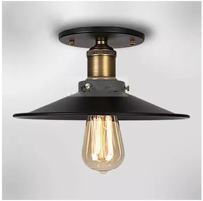 Ceiling Lamp IKEA Loft Bar Restaurant Nordic American Village Vintage Warehouse Industrial Ceiling Light