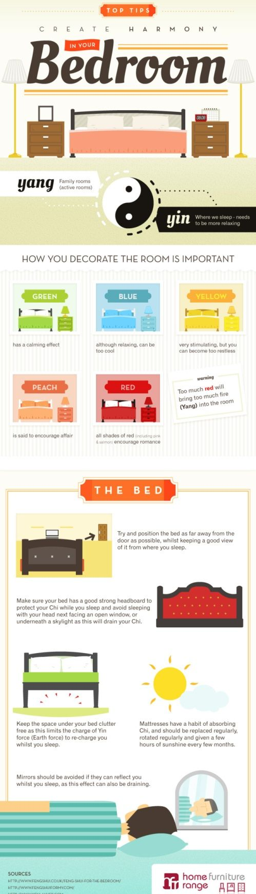 feng shui your bedroom  I like the color idea! I'm going to look into grey.
