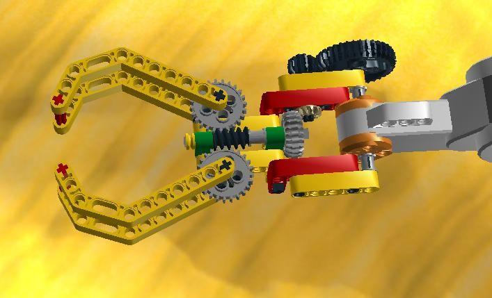 Aula Robótica Dominicana: Garras lego NXT - Lego Arm
