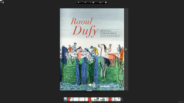 Raoul Dufy – Drawings, Lithographs & Wood Engravings    Click on the image to take a closer look