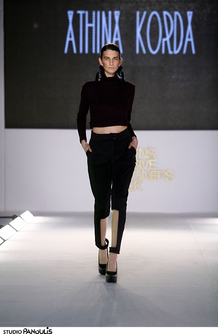 """Lost In A Moment"" Athina Korda Catwalk A/W 14-15"