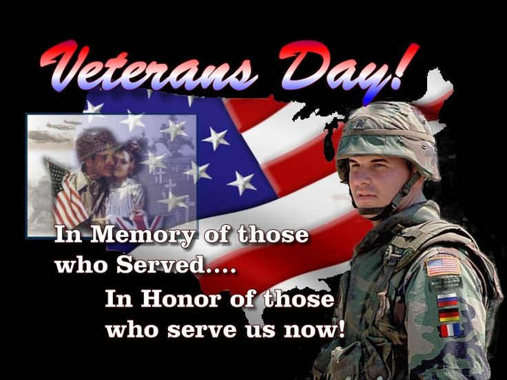 Let's show our veterans here on Amirite and those who are presently serving this great country of ours how much we appreciate them.  Thanks to all of you.  Without your sacrifices we would not be enjoying the freedoms we have today.   Thank you!