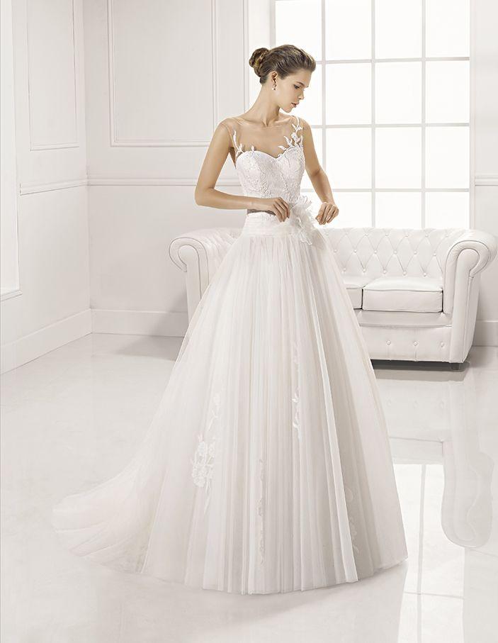 Colección Novias 2017 Wedding Dress Adriana Alier Modelo Zerva Miguel Mora