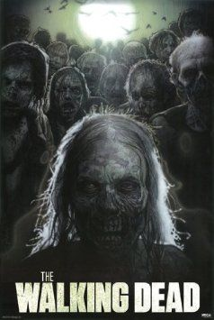 Amazon.com: THE WALKING DEAD POSTER Scarry RARE HOT NEW 24x36: Home  Kitchen
