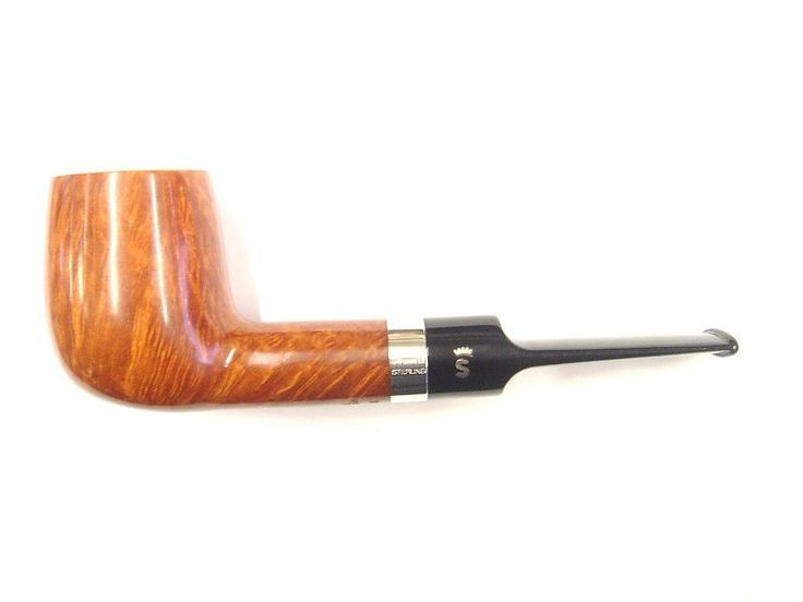 Stanwell Sterling Brown Polished Briar 9mm Filter Pipe - Shape No.13   eBay