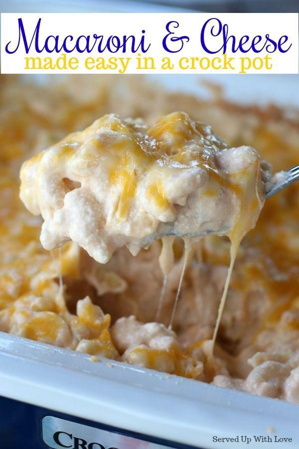 Crock Pot Macaroni And Cheese Recipe In 2018 Fabulous Food