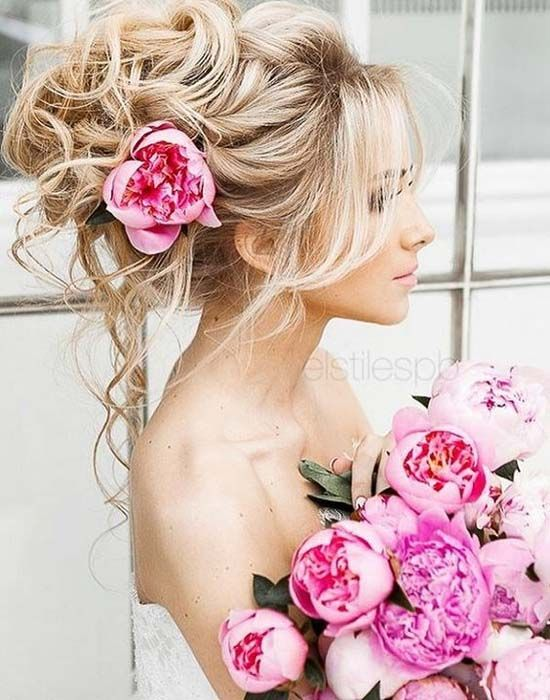 Long Wedding Hairstyle Idea 2017
