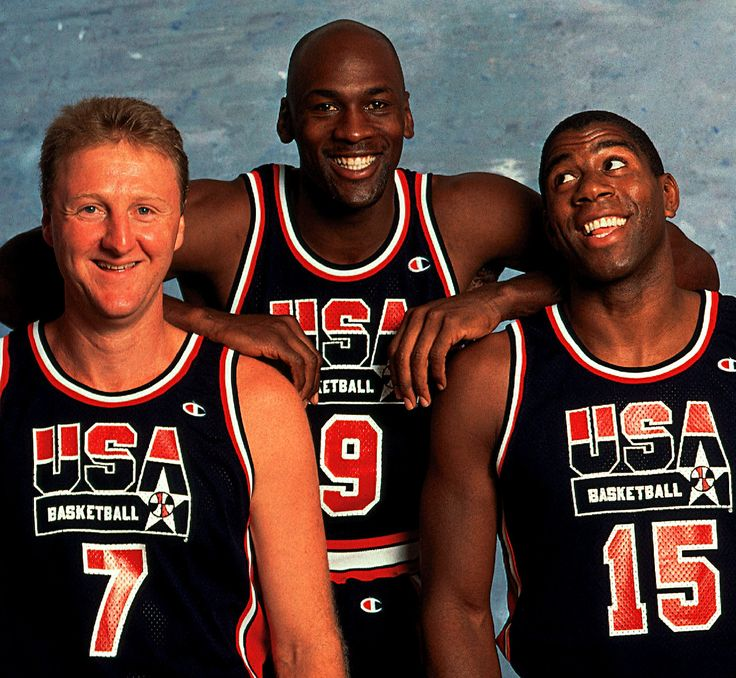 Mike, Larry Magic. We are the Dream Team. Aint nobody better. Get on our level. Can't touch us. #BallinwithAids