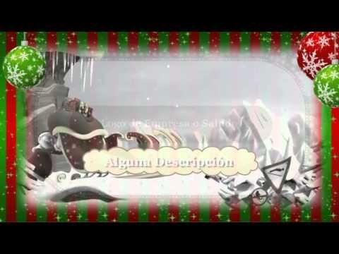 Te Creo un Video HD Felicitando la Navidad para tu Negocio o Personal