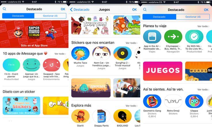 Apple lanza la iMessage App Store con aplicaciones, juegos, y stickers - http://www.actualidadiphone.com/apple-lanza-la-imessage-app-store-con-aplicaciones-juegos-y-stickers/