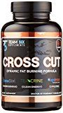 T6 CROSS CUT All Natural Thermogenic Fat Burner  Intense Weight Loss Supplement 60 Veggies Capsules