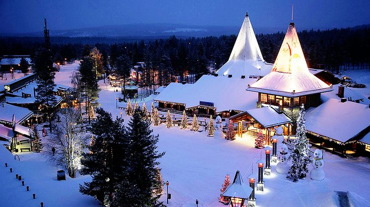 5 Destinations Worth Escaping to for the Winter Holidays|Jinna Yang 3. Christmas in Santa Claus's hometown of Rovaniemi in Lapland, Finland  What better way is there to spend Christmas than in Santa Claus's hometown? In Santa's Village, you'll find tons of shops, cafes, museums and an underground park.
