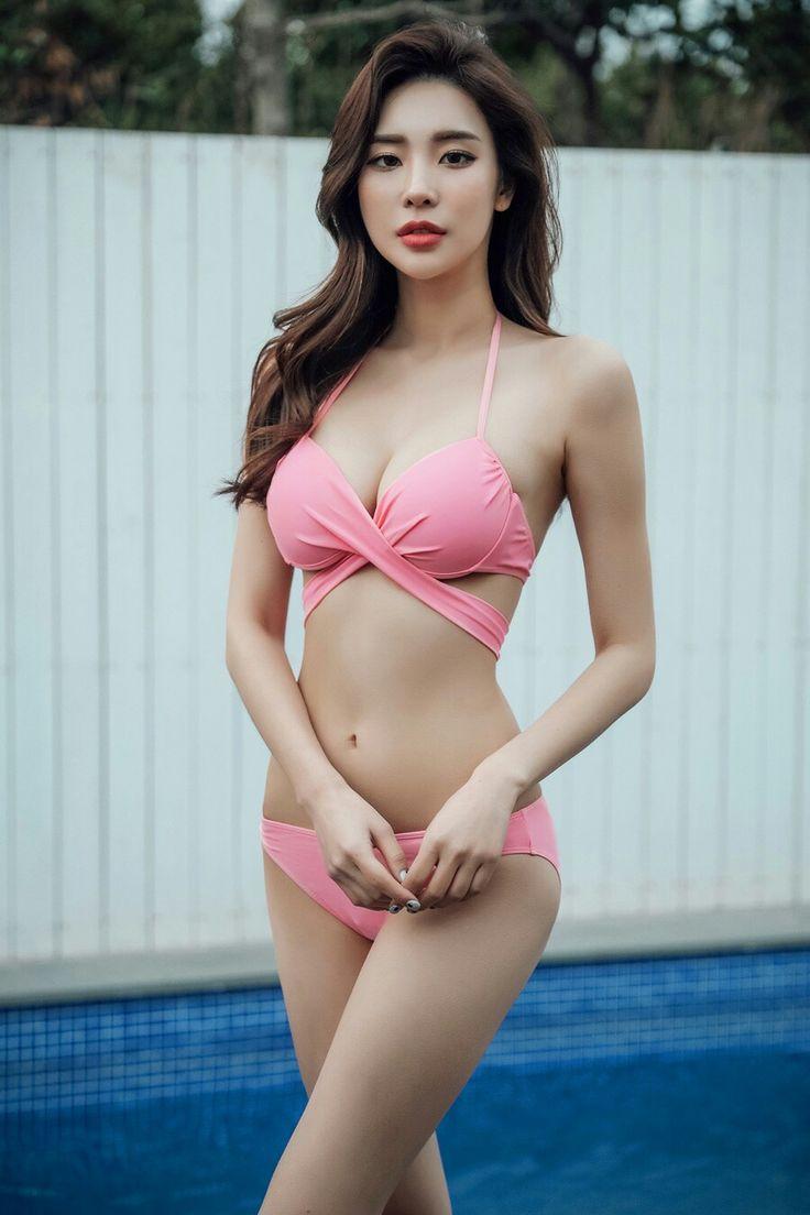 Korean bikini model, sexy hot fucking mexicanas