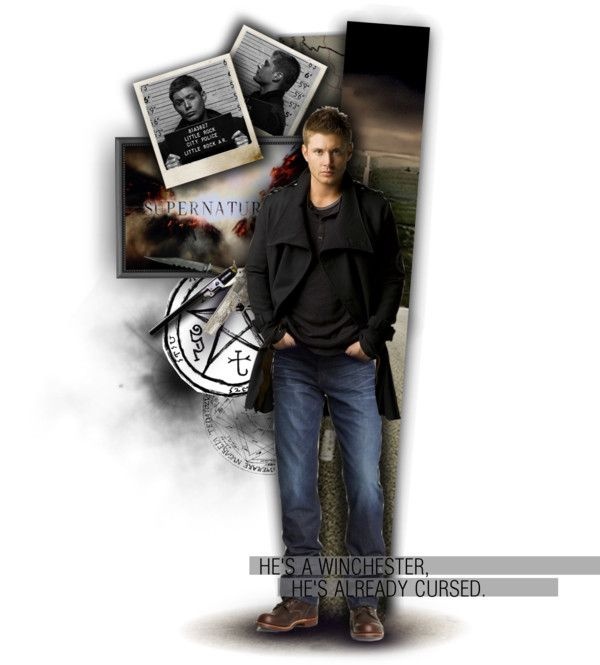"""He's a Winchester, he's already cursed. - Dean Winchester."" by annashreder on Polyvore"