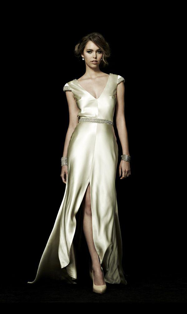 16 best bias cut wedding dress images on Pinterest | Short wedding ...