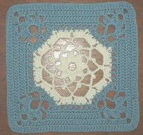 Victorian granny square free pattern, 12 inch design. Just delicious, thanks so xox