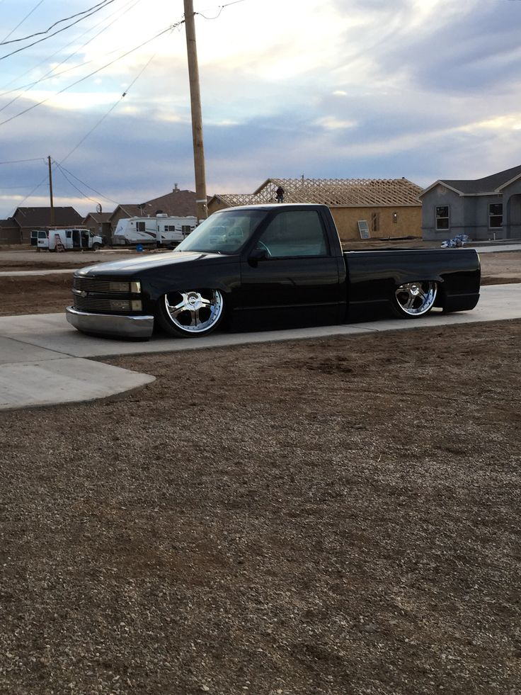 Bagged bodied Chevy c15 Krucial Koncepts