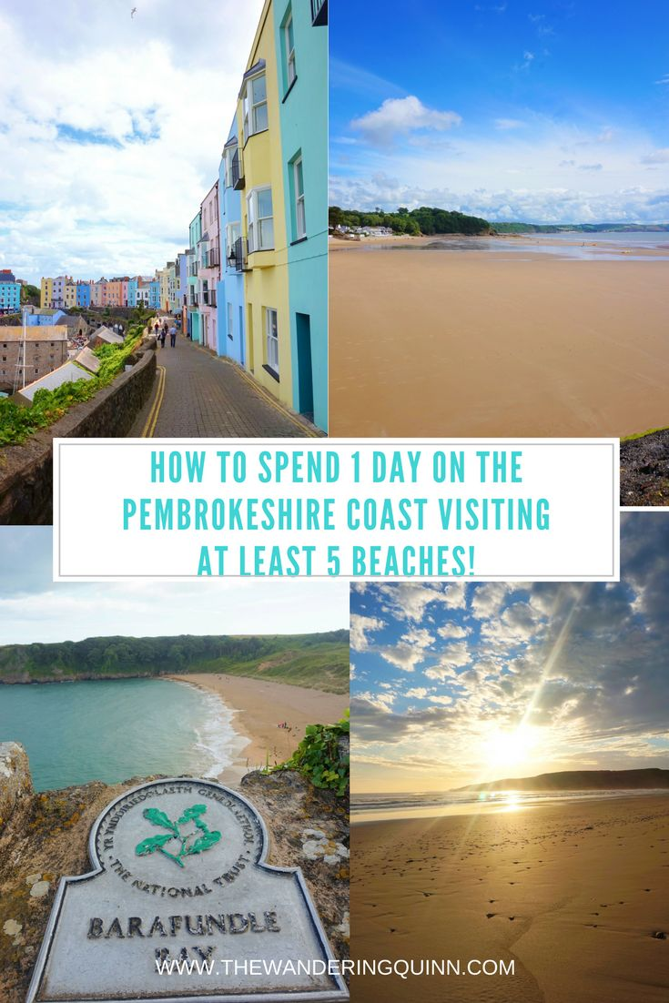 How to Spend 1 Day on the Pembrokeshire Coast visiting at least 5 Beaches!