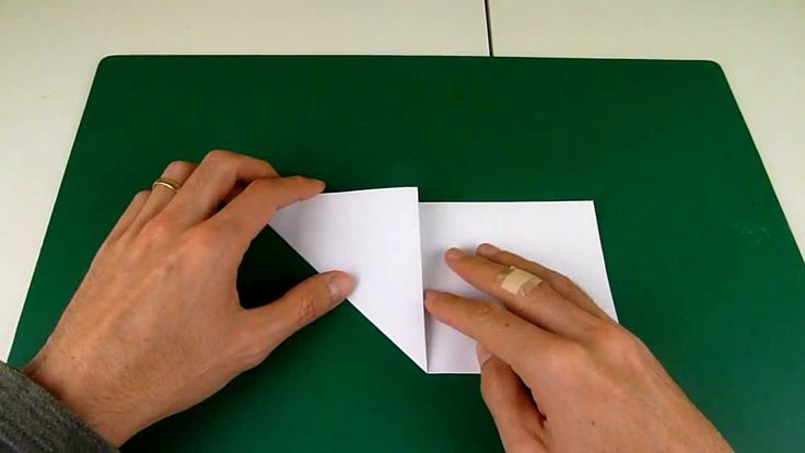 Origami trick for how to cut a perfect (regular) pentagon out of a square sheet of paper. Comes in handy for making origami 5 pointed stars like these: http:...