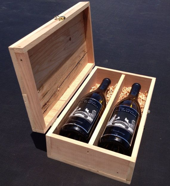 Hey, I found this really awesome Etsy listing at http://www.etsy.com/listing/130412822/handmade-unfinished-wooden-wine-box