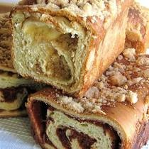 Jewish Cinnamon Babka..yummy: Almonds, Babka Recipe, Bread, Jewish Almond, Cinnamon Babkas, Jewish Cinnamon, Baking, Jewish Food