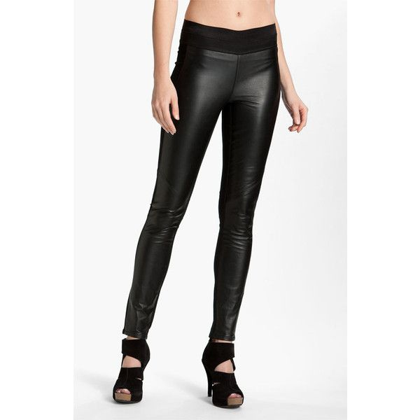 17 Best ideas about Leather Panel Leggings on Pinterest | Leather ...