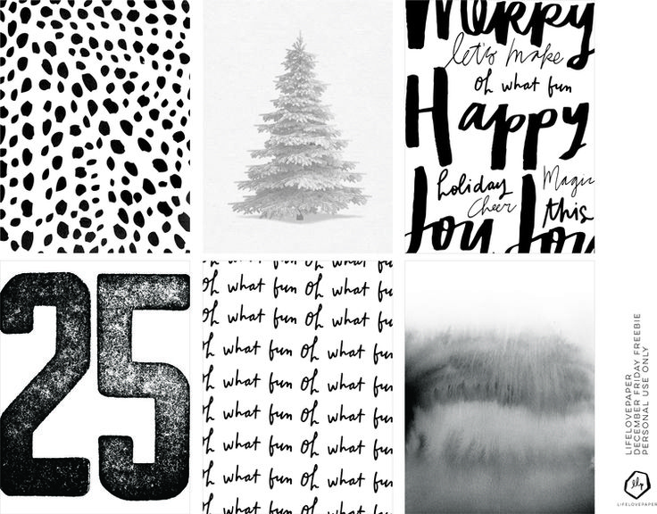 Just in case you haven't finished up your December Project Life yet... Source: Friday Freebie | December — lifelovepaper