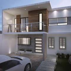 casa ev casas de estilo minimalista por