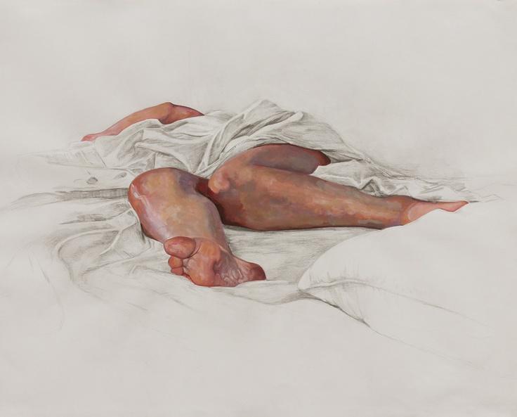 "Saatchi Online Artist: Erin Whitman; Pencil, Drawing ""Gravity"""