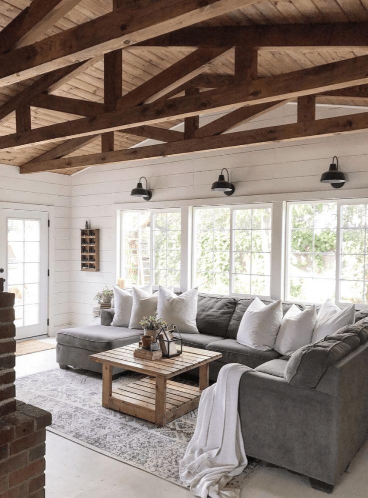 Gorgeous 50 Gorgeous Farmhouse Living Room Ideas Remodel https://carribeanpic.com/50-gorgeous-farmhouse-living-room-ideas-remodel/
