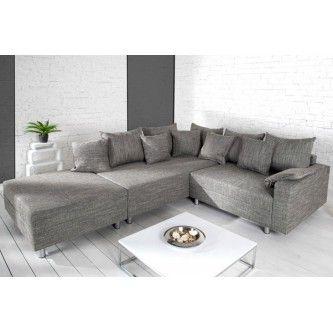 Votre salon vous sera reconnaissant des l'arrivee de votre canape d'angle Loft, tellement il est un concentre de design aux lignes pures pensees pour le confort de chacun. Vous optimiserez votre deco actuelle en accueillant un canape Loftchez vous.