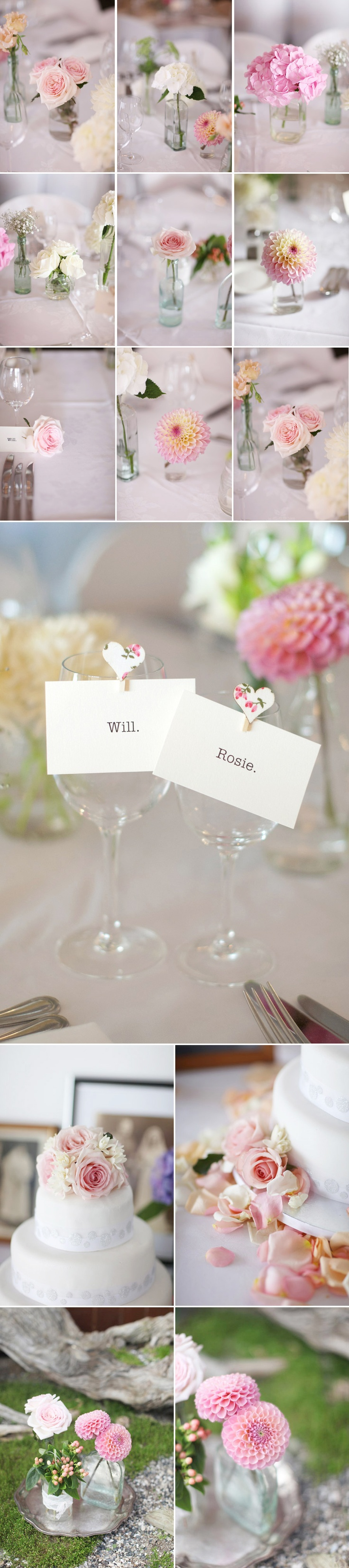 single stem centerpieces