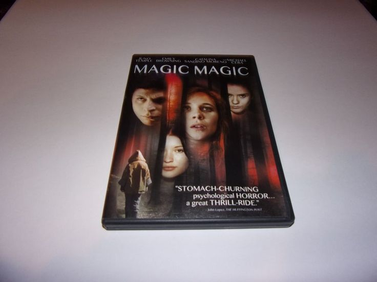 Magic Magic (DVD, 2013) Emily Browning, Juno Temple, Psychological Horror #Sony
