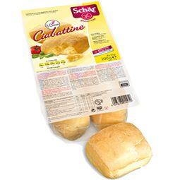 Glutensiz Cibatte Ekmek  Schar cibatte ekmek dört küçük parça halinde üretilip paketlenmiştir. Parçalanmış ya da kesilmiş ekmek sevmeyenler için ideal bir sunumdur. Böylece paketi açmış olsanız bile az tüketen biri iseniz tek birini kullanabilirsiniz. Bu şekilde de glutensiz ekmeğin tadına varabilir hem de bayatlamanın önüne geçebilirsiniz.