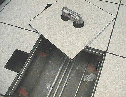 Esd Raised Floor Attic Floor Attic Flooring Acoustical