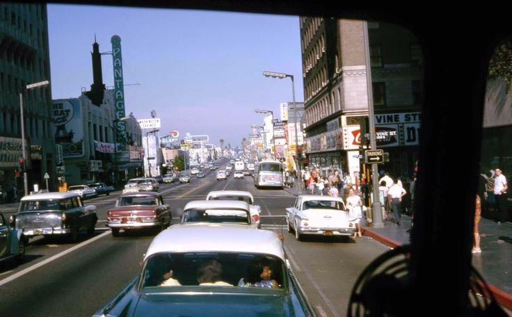 Hollywood and Vine in 1965