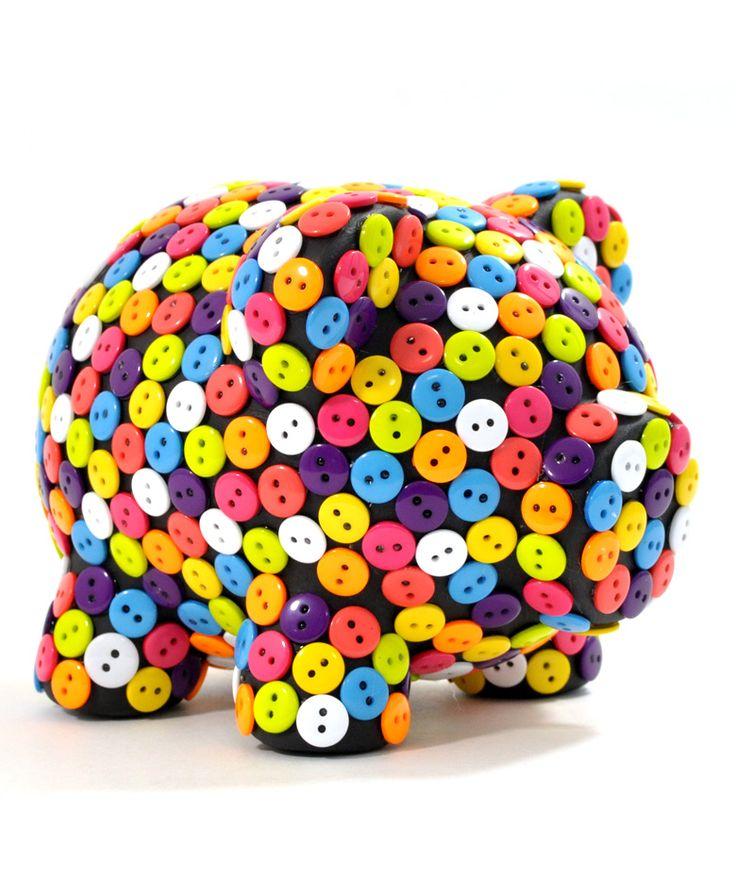 Botones de colores - Alcancía. $55.000 COP. Cómprala aquí--> https://www.dekosas.com/productos/regalos-originales-dekosas-oing-oing-alcancia-basica-botones-detalle