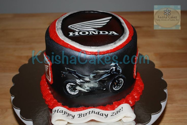 Birthday Cake Ideas Motorcycle : The 45 best images about 50th Birthday Ideas on Pinterest ...