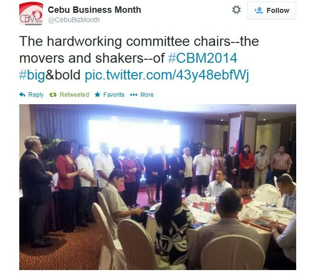 The business community in Cebu will be stirred once again with the various opportunities to improve, network and collaborate offered by the 18th Cebu Business Month in June.