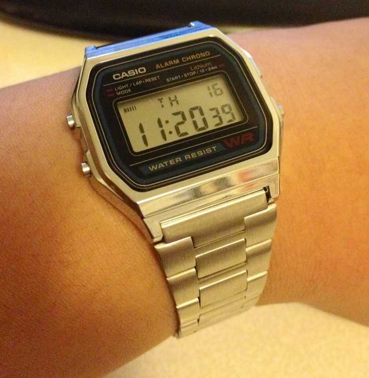 It's funny how a simple Casio can keep better time than my Rolex and IWC.