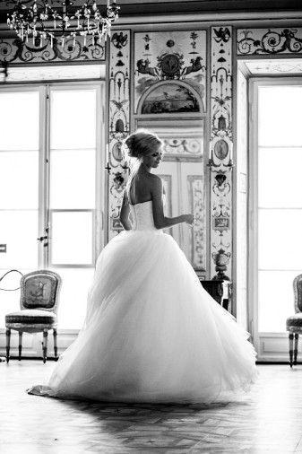 Dream wedding look...hair ...dress...everything!