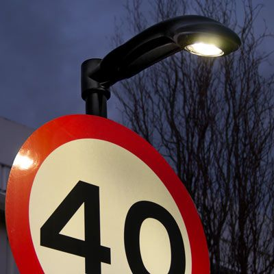 Lumino City™ 1500 LED Downlighter - Complying with standards BS EN 12899-1, our Lumino City 1500 LED energy efficient sign light illuminates highway road signs up to 1500mm. IP66 rated for a long service life reduced maintenance. #GlasdonUK #LEDLighting #Downlighter #HighwaysSafety